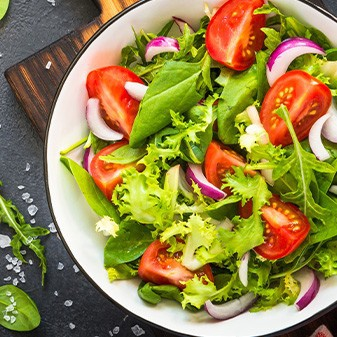 Salat in der Roots Sportsbar Braunschweig