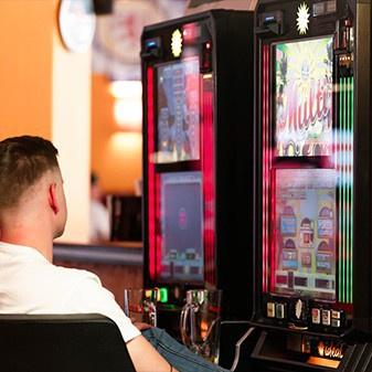 Spielautomaten in der Roots Sportsbar Braunschweig